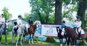 Horse Show Leases team at Pony Finals